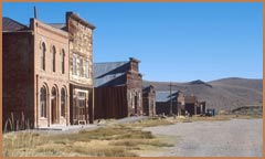 Main Street, Bodie State Historic Park